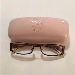 Juicy Couture Eyeglasses & Case